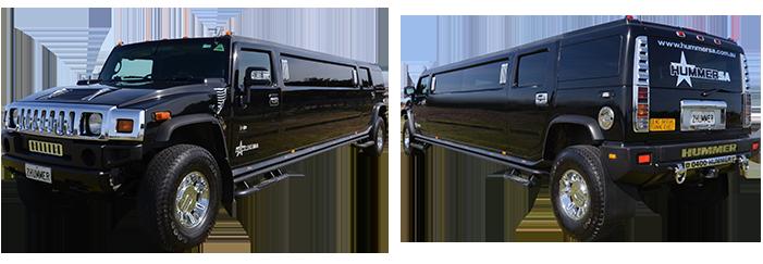 Black Stretch Hummer Limousine Adelaide
