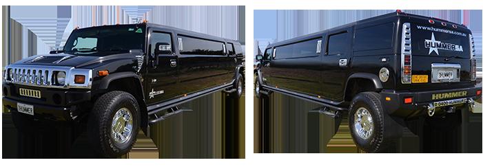 Black Stretch Hummer Limousine - Adelaide