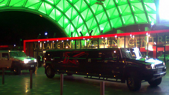 Stretch Hummer Limousine - Adelaide Entertainment Centre