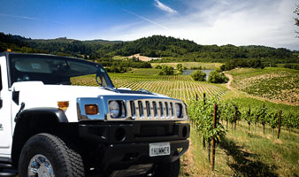 Hummer SA Winery Tours